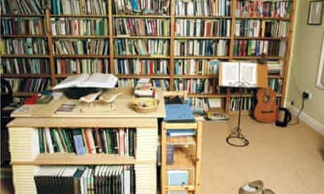 Writers' rooms: Simon Armitage