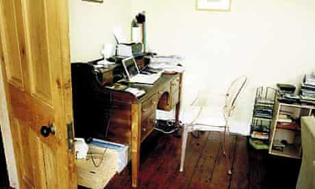 Anne Enright's writing room
