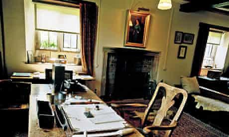 Rudyard Kipling's writing room