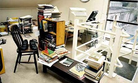 Michael Rosen's writing room
