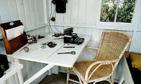 Bernard Shaw's writing room