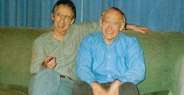 Ian McEwan with his brother David Sharp