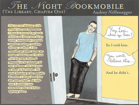The Night Bookmobile by Audrey Niffenegger