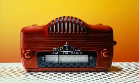An old American radio