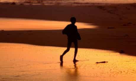 Nigerian beach