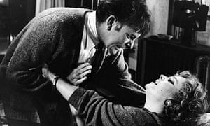 Richard Burton and Elizabeth Taylor in the film of Who's Afraid of Virginia Woolf?