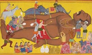oldest epic ramayana or mahabharata