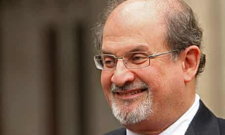 Salman Rushdie arrives at the High Court for libel settlement