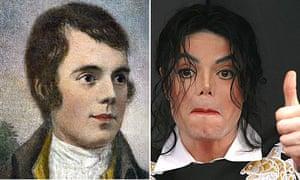 Robert Burns and Michael Jackson