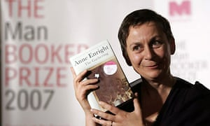 Booker Prize winner Anne Enright