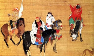 Kubla Khan hunting