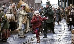 Dakota Blue Richards in the film of The Golden Compass