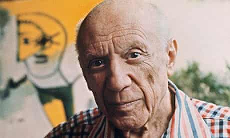 Picasso in 1971