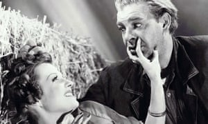 Betty Field and Lon Chaney in Of Mice and Men (1939)