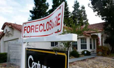 Home foreclosure in the US