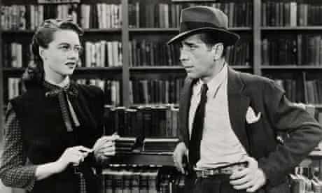 Dorothy Malone and Humphrey Bogart in The Big Sleep