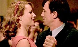 Sylvia Plath (Gwyneth Paltrow) and Ted Hughes (Daniel Craig) in the movie Sylvia