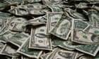 Dollars - pile of money