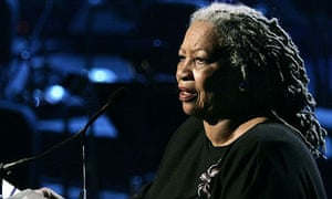 Toni Morrison gives a public reading in New York