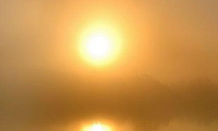 A sunrise (in Texas)