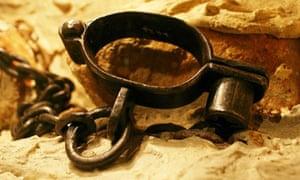 Slave shackles
