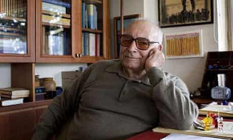 Yasar Kemal at home