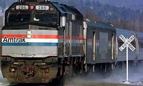 American Amtrak train