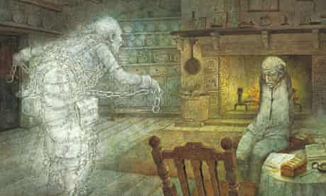 A Christmas Carol illustrated by Robert Ingpen