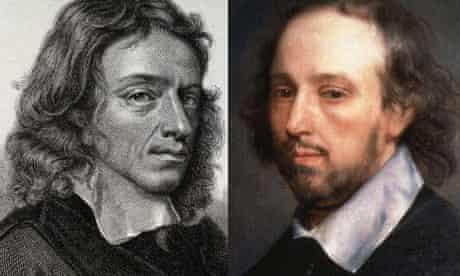 John Milton and William Shakespeare