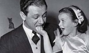 Sid James with his daughter Reina