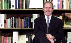 George Bush at the British Museum Reading Room in 2001