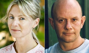 Kate Mosse and Nick Hornby