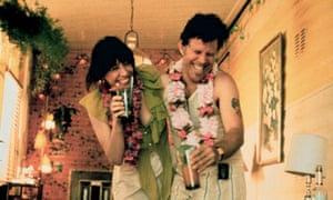 Lily Tomlin and Tom Waits in Short Cuts