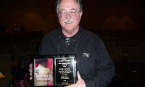 Steve Murray, Stieg Larsson's translator, at the Bouchercon awards