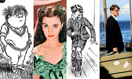 Antiheroes (Molesworth, Scarlett O'Hara, Just William and Tom Ripley)
