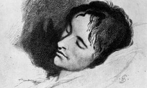 John Keats on his death-bed