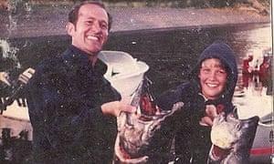 David Vann and his father in Alaska