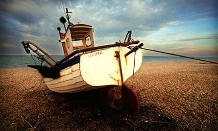 The beach at Aldeburgh