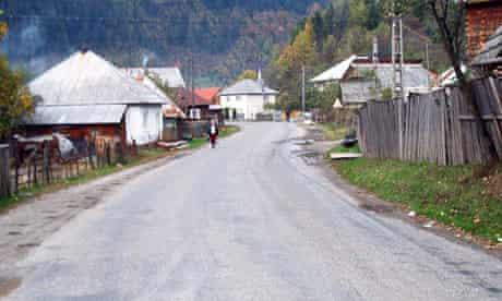 Village in Romania