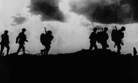 British troops near Ypres (first world war)