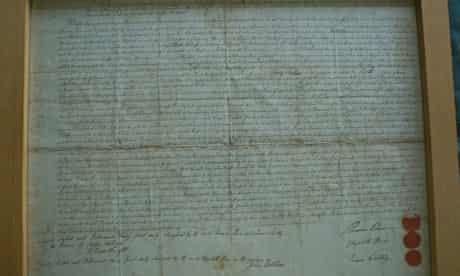 Thomas Paine's separation deed