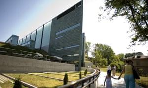 Tallinn's Kumu arts museum