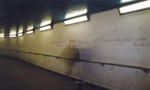 Sue Hubbard's Eurydice installation at Waterloo