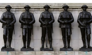 War veterans gather in Whitehall for the the annual Remembrance Sunday ceremony in central London