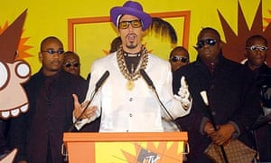 Ali G with the Staines Massive