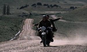 Rodrigo De la Serna and Gael García Bernal in the film version of The Motorcycle Diaries