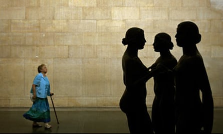 Aristide Maillol's The Three Nymphs