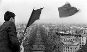 Demonstration in Paris, 30 May 1968