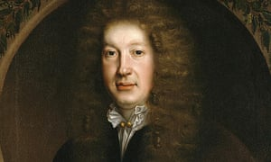 Detail from portrait of John Dryden, the first poet laureate