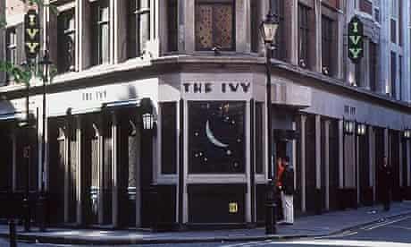 The Ivy restaurant